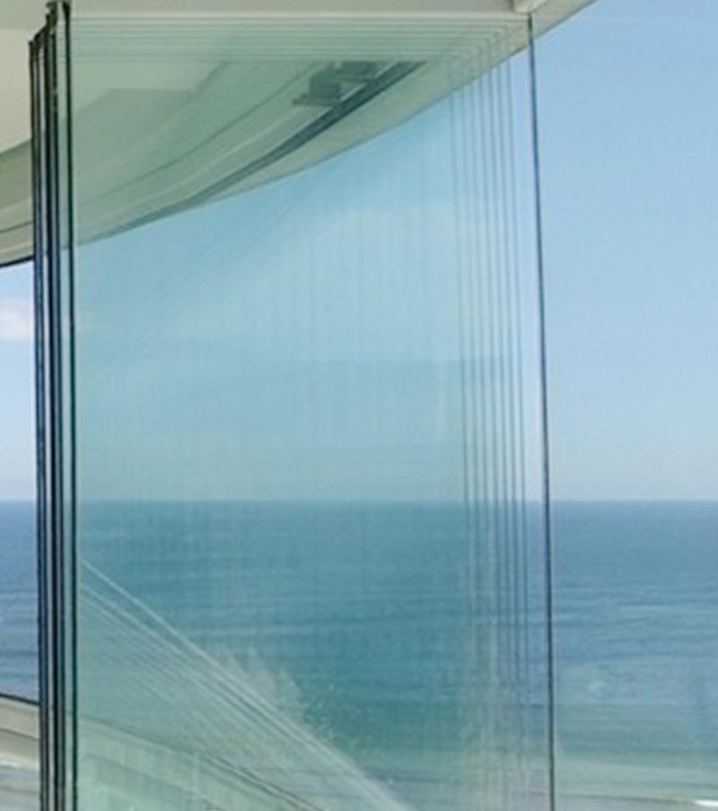 Cortinas de vidro para esplanadas de cafés/restaurantes em Loulé